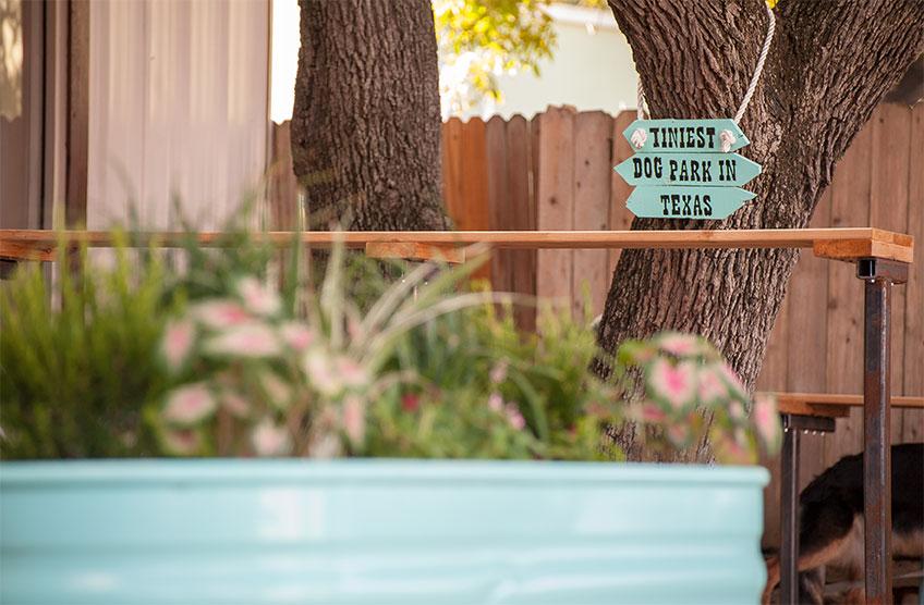 Tiniest Dog Park in Texas