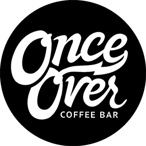 Once Over Coffee Bar logo